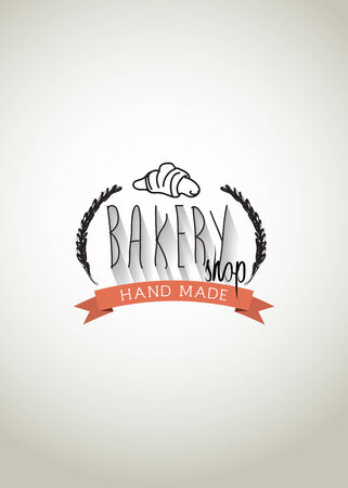 typo: Typo vector with word Bakery Shop