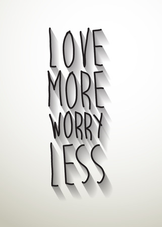 less: vector love more worry less