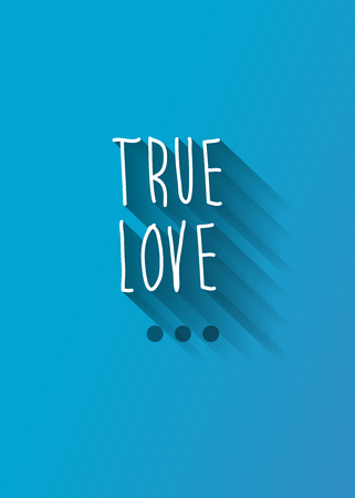 marry me: true love typo with shadow vector, wedding theme