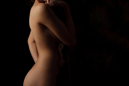 sexy women naked: Body Shapes Sexy Stock Photo