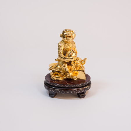 A Figure Represent Chinese New Year In The Year Of Monkey With ...