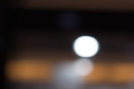 rendition: A background of light bulb bokeh with soft blur rendition. Represent soft, creamy and sweet. Stock Photo