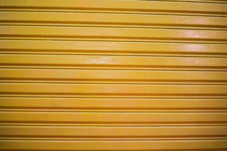 aluminum yellow roller door photo