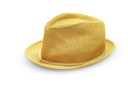 headway: Fedora hat isolated on white background