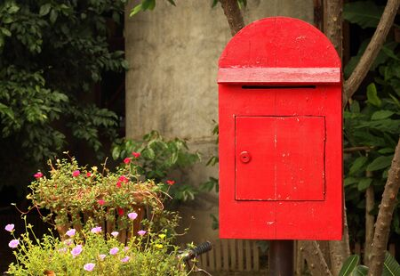 Mail Box in the nature