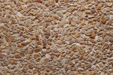 macadam: Small-sized gravel background.