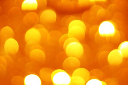 orange gold bokeh abstract background.