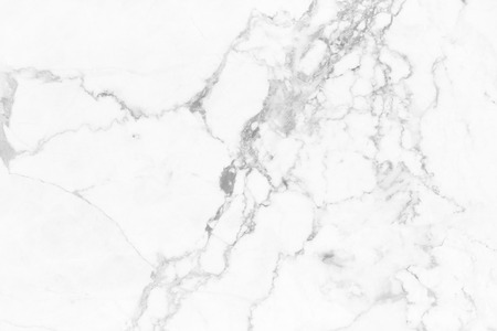 White marble texture in natural pattern with high resolution for background and design art work. White stone floor. Stock Photo - 86568752