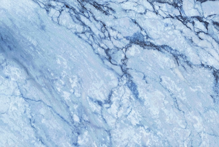 Blue marble texture in natural pattern with high resolution for background and design art work. Blue stone floor. Stock Photo
