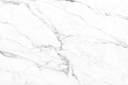 Trama di marmo bianco in modello naturale ad alta risoluzione per opere d'arte di sfondo e design. Pavimento in pietra bianca. Archivio Fotografico - 95647834