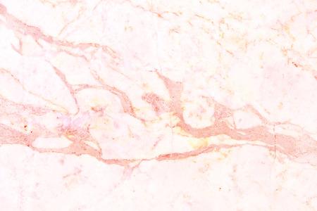 Texture de mur en marbre or rose pour les travaux d'arrière-plan et de conception, modèle sans couture de carrelage en pierre avec un luxe lumineux