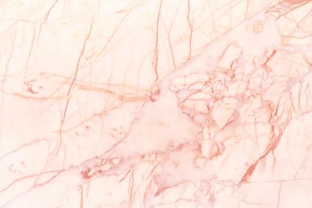 Textura de pared de mármol de oro rosa para obras de arte de fondo y diseño, patrón sin fisuras de baldosas de piedra con lujo brillante.
