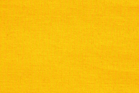 Yellow cotton fabric texture background, seamless pattern of natural textile. Reklamní fotografie