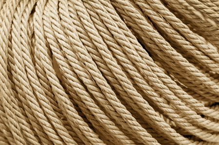 Rope texture for background and design art work. Banque d'images