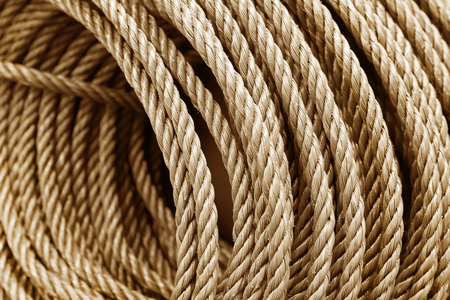Rope texture for background and design art work. 版權商用圖片