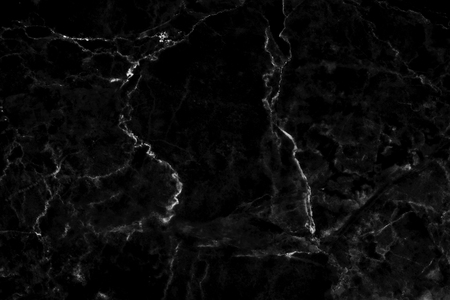 Black marble texture background with detailed structure high resolution beautiful and luxurious, abstract black stone floor in natural patterns for design art work. Stock Photo