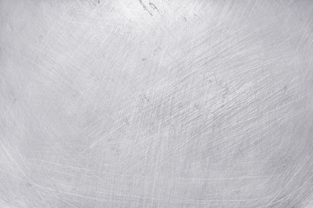 aluminium metal texture background, scratches on polished stainless steel.
