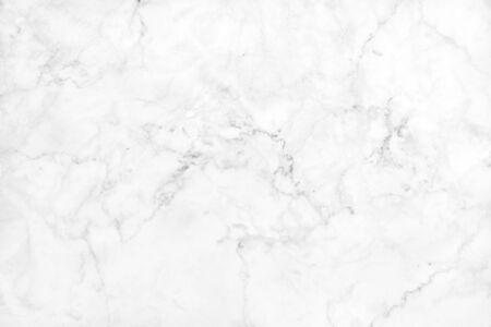 Weißgrauer Marmortexturhintergrund mit hoher Auflösung, Draufsicht auf Naturfliesensteinboden in luxuriösem, nahtlosem Glitzermuster für Innen- und Außendekoration.