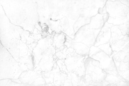 White grey marble texture background with high resolution, top view of natural tiles stone floor in luxury seamless glitter pattern for interior and exterior decoration. Stock Photo