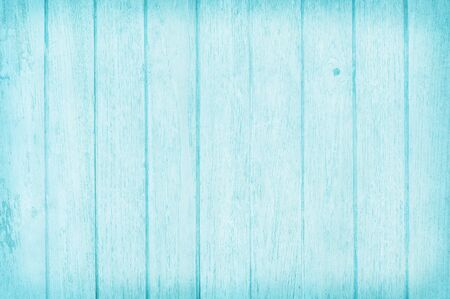 Vintage painted wooden wall background, texture of blue pastel color with natural patterns for design art work. Stok Fotoğraf