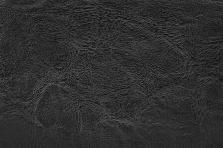 Black leather texture background with seamless pattern and high resolution.