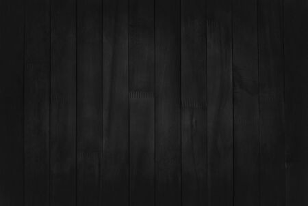 Black wooden wall background, texture of dark bark wood with old natural pattern for design art work, top view of grain timber. Reklamní fotografie