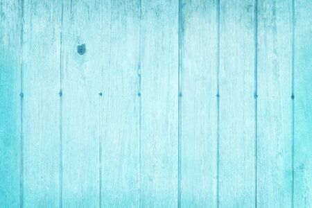 Vintage painted wooden wall background, texture of blue pastel color with natural patterns for design art work. Reklamní fotografie