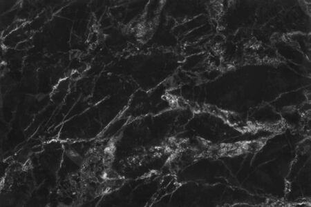 top view of black grey marble texture background, natural tile stone floor with seamless glitter pattern for interior exterior and design ceramic counter. Reklamní fotografie