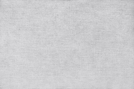 Light grey cotton fabric texture background, seamless pattern of natural textile. Standard-Bild