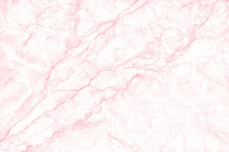 Pink marble texture background with seamless and high resolution for interior decoration. Tile stone floor in natural pattern.