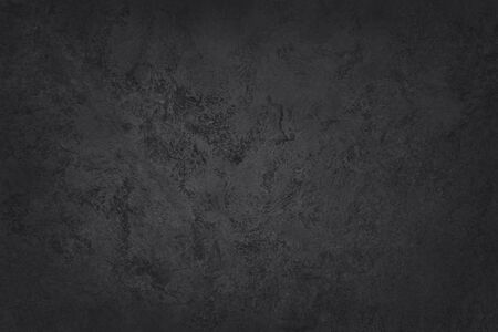 Dark grey black slate texture in natural pattern with high resolution for background and design art work. Black stone wall. 版權商用圖片
