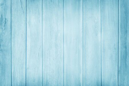 Blue pastel wooden wall texture background with natural pattern. 版權商用圖片