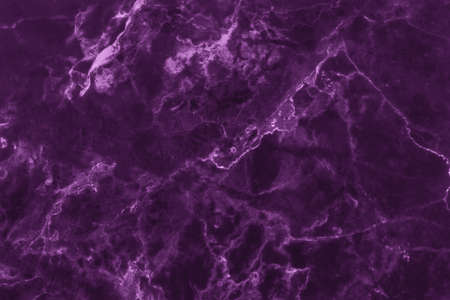 Dark purple marble texture background with high resolution, counter top view of natural tiles stone in seamless glitter pattern and luxurious.