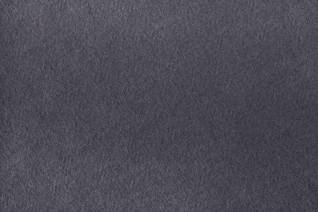 Grey cotton fabric texture background, seamless pattern of natural textile. Standard-Bild