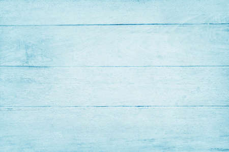 Blue pastel wood planks texture background with natural patterns vintage style for design art work and interior or exterior.