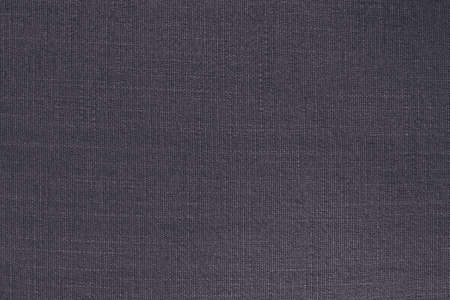 Dark grey linen fabric cloth texture background, seamless pattern of natural textile.
