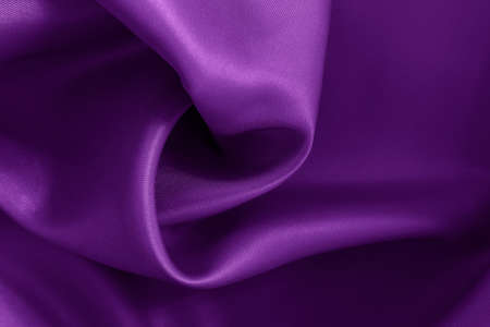 Purple fabric cloth texture for background and design art work, beautiful crumpled pattern of silk or linen. Reklamní fotografie