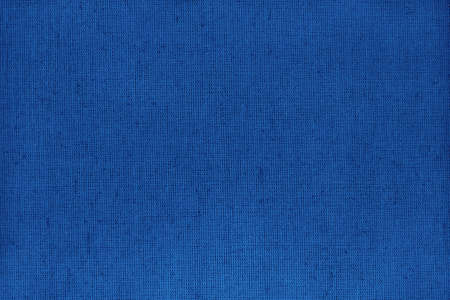Dark blue cotton fabric texture background, seamless pattern of natural textile.