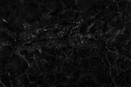 Black gray marble texture background with high resolution, counter top view of natural tiles stone in seamless glitter pattern and luxurious. 免版税图像