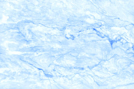 Blue pastel marble texture in natural pattern with high resolution for background and design art work. Tiles stone floor.