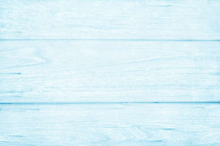 Blue pastel wood grain texture background, pattern of natural rustic panel timber.