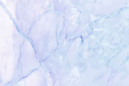 Blue pastel marble top-view texture background in seamless glitter pattern. Imagens
