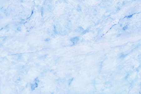Blue pastel marble texture background with high resolution, top view of natural tiles stone floor in luxury seamless glitter pattern for interior and exterior decoration. Imagens