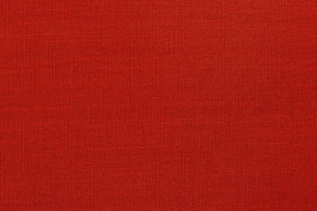 Dark red linen fabric cloth texture background, seamless pattern of natural textile. Imagens