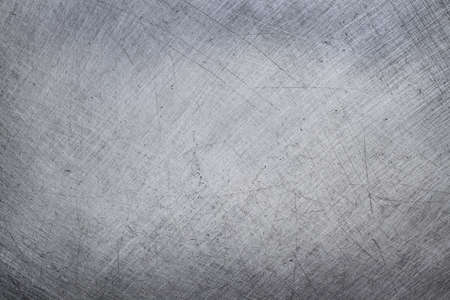 aluminium texture background, scratches on stainless steel. Imagens