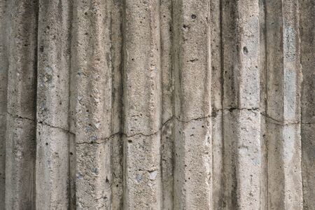 Cracked cement wall