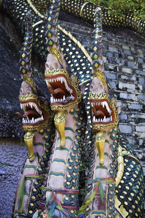 Three heads Nagas photo