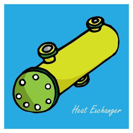 exchanger: engineering tool cute vector