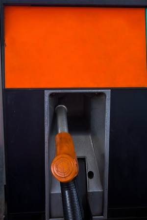 Gas pump nozzle  photo