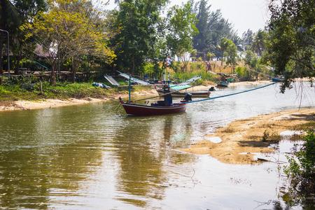 fischerei: Fl�sse trocknen. Fischerei in den l�ndlichen Gebieten von Thailand.